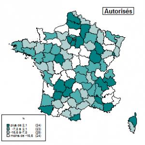 Statistiques constructions autorisées janvier2013