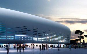 Bouygues livre la grande salle Arena à Bordeaux