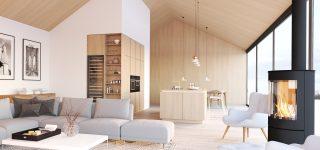 Appartement moderne avec salon aménagé